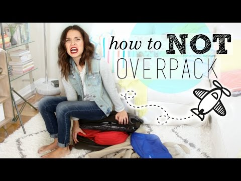 Get How to NOT Overpack Your Suitcase! Pictures