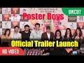 UNCUT - Poster Boys Trailer Launch | Sunny Deol, Bobby Deol, Shreyas Talpade, Dharmendra