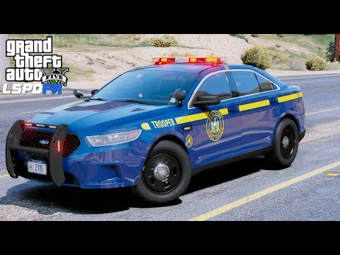 GTA 5 LSPDFR Police Mod #605 New York State Police - State Trooper Live Stream With New Radar Gun