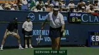 Steffi Graf vs Conchita Martinez - 1996 Indian Wells Final 8/10