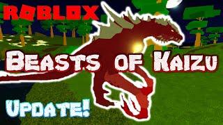 Roblox beasts of kaizu - update!