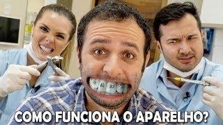 Como o aparelho desentorta os dentes? #Boravê