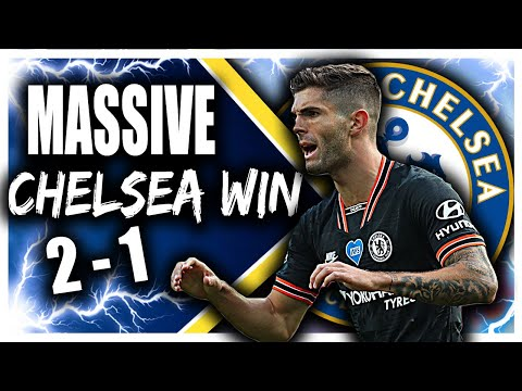 Chelsea 2 - 1 Aston Villa! MASSIVE Win For Frank Lampard As Chelsea PULL CLEAR In Top Four Race!