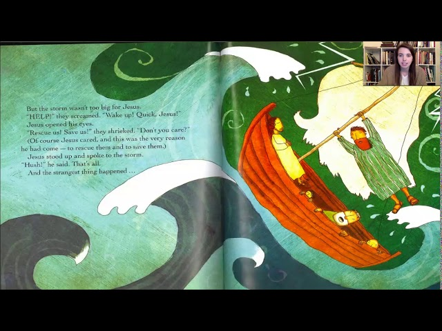 Bible Story #6: The Captain of the Storm