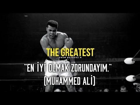 'The Greatest' - 'En İyi Olmak Zorundayım' - Muhammed Ali - Türkçe Altyazılı Motivasyon Videosu