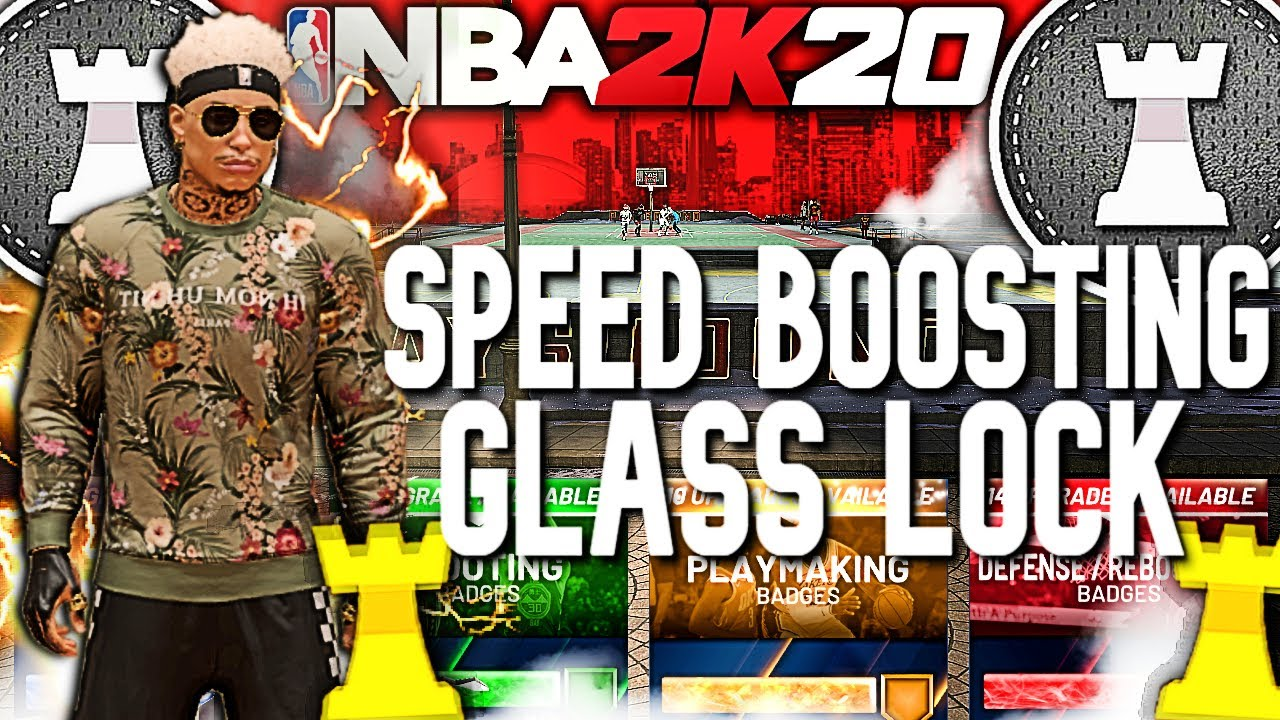 THE FIRST SPEED BOOSTING GLASS-CLEANING LOCKDOWN BUILD ON NBA 2K20! THE ULTIMATE DEMI GOD BUILD