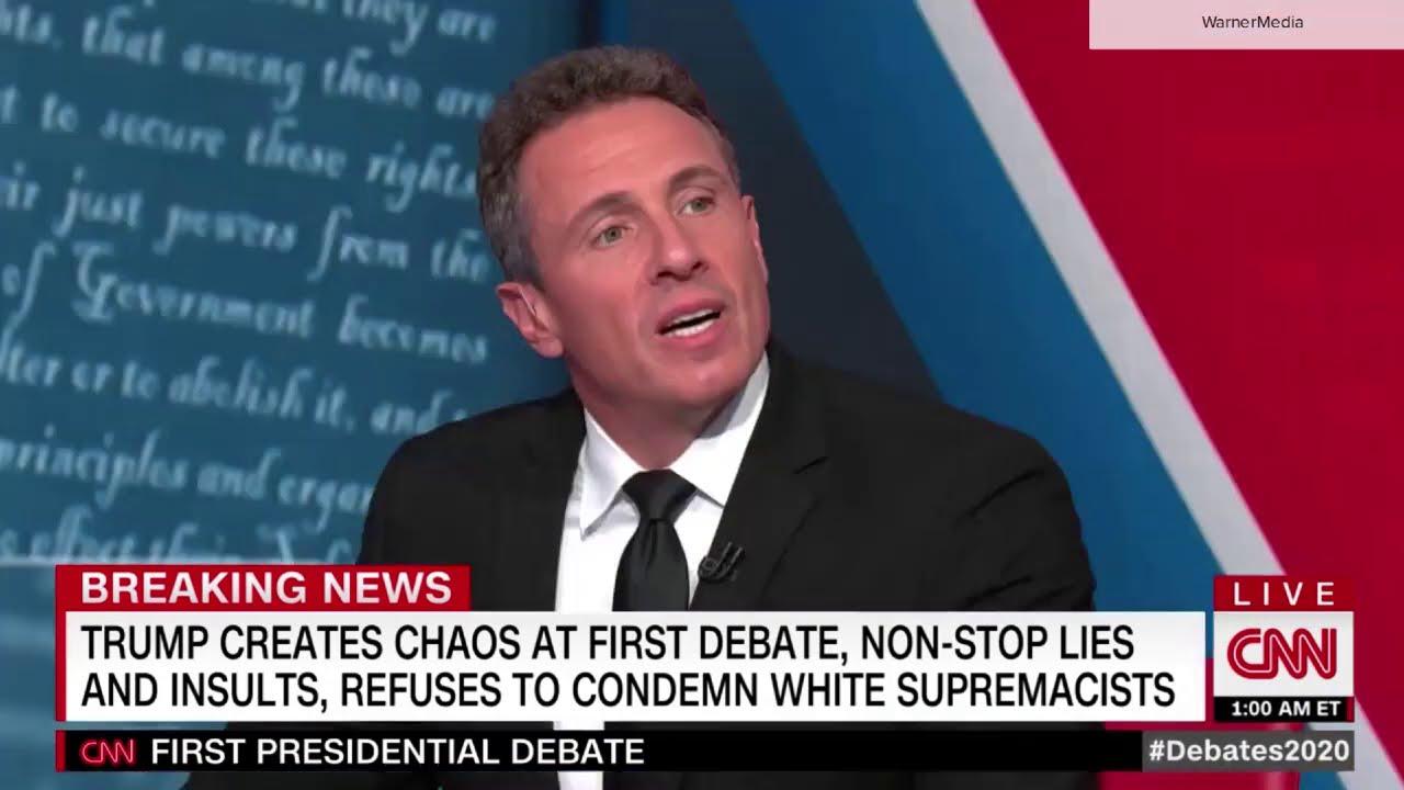 CNN's Chris Cuomo calls first debate a 'shit show'