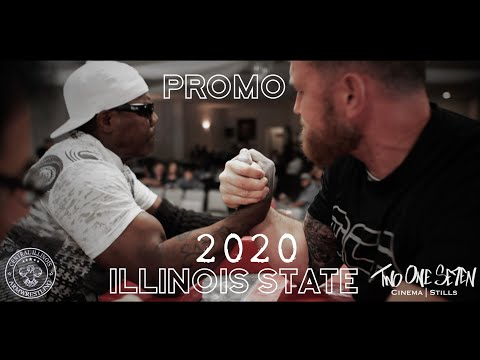2020 Illinois State Armwrestling Championships - Promo