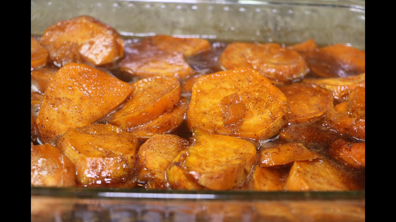 How to make candy yams