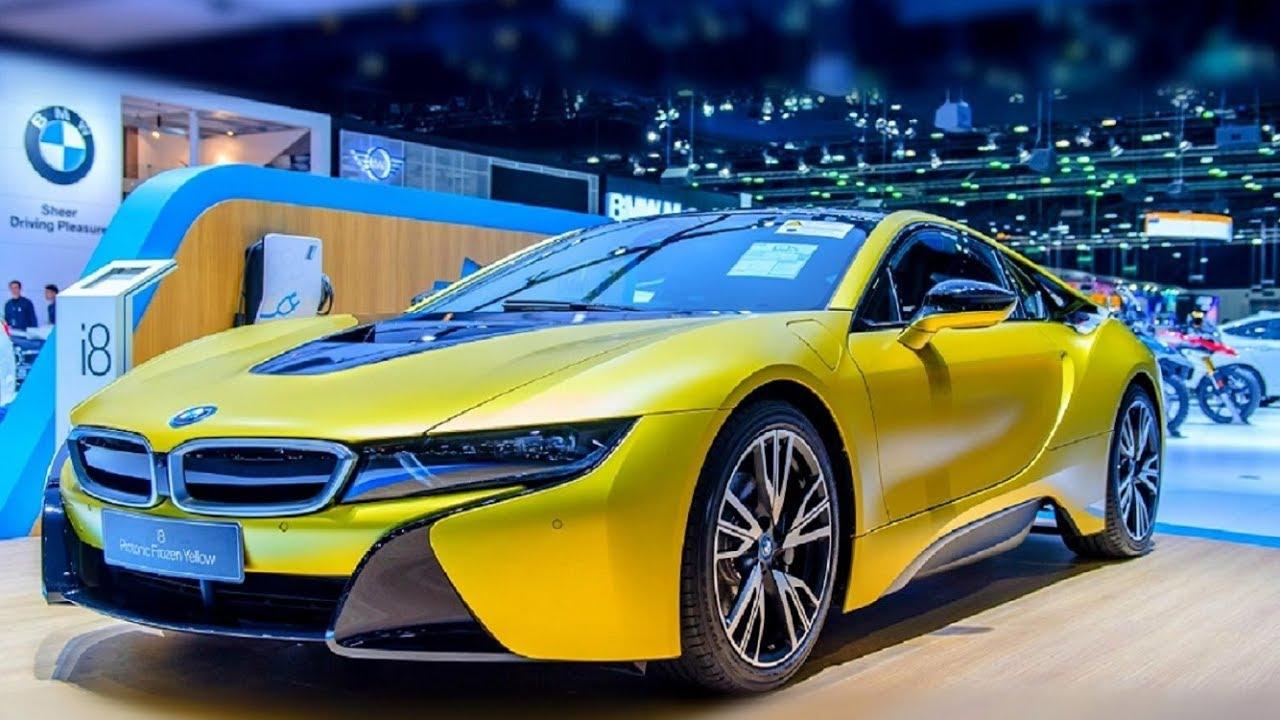 2018 Bmw I8 Protonic Frozen Yellow Exterior And Interior Youtube