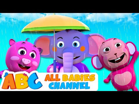 Rain Rain Go Away | Nursery Rhymes For Children by All Babies Channel | Baby Rhymes And Kids Songs