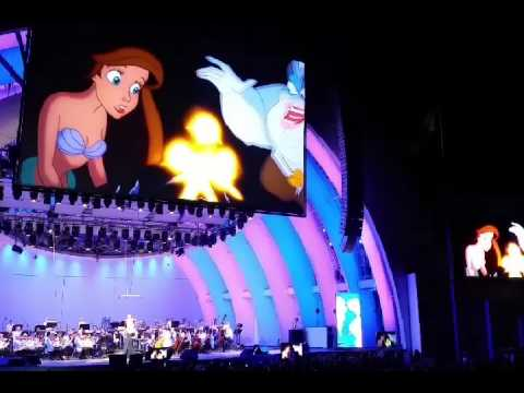 The Little Mermaid at the Hollywood Bowl 6.4.16 - Poor Unfortunate Souls (Rebel Wilson)