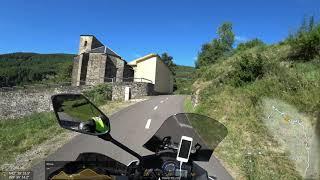 Transpirenaica en moto - 7 día - Aragón - Navarra - ruta de las cimas