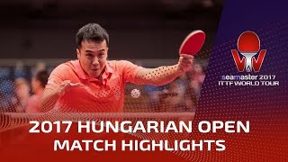 2017 Hungarian Open Highlights: Shang Ku...