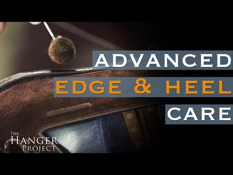 Advanced Edge & Heel Care: Clean, Recolor, and Polish