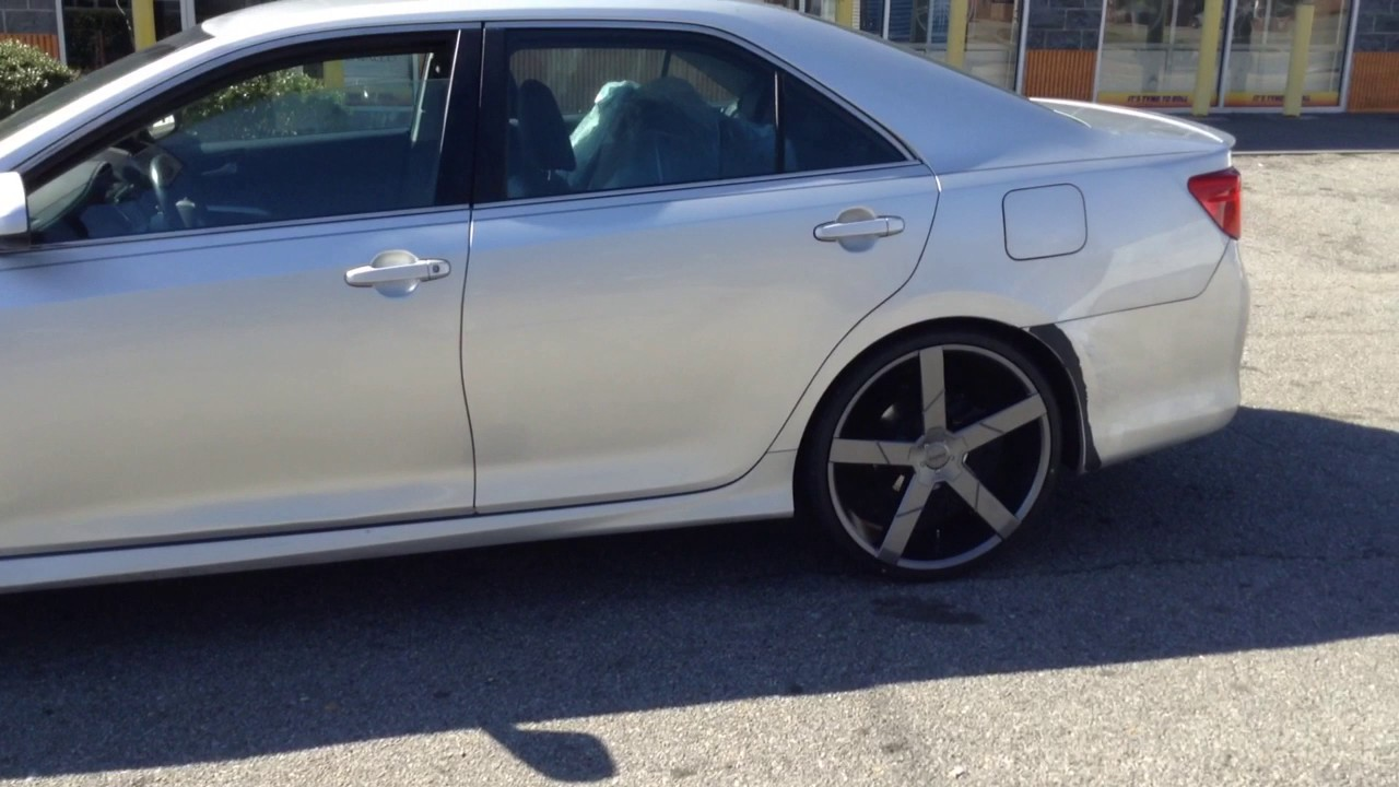 Rimtyme Of Winston Salem Rolling Out A 2014 Toyota Camry