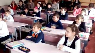 Открытый урок английского языка во 2-м классе