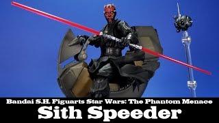 S.H. Figuarts Sith Speeder Star Wars The Phantom Menace Review