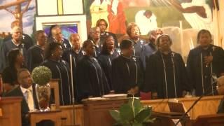 150527 - Historic First Bryan Baptist Church Choir - Macedonia Centennial Celebration