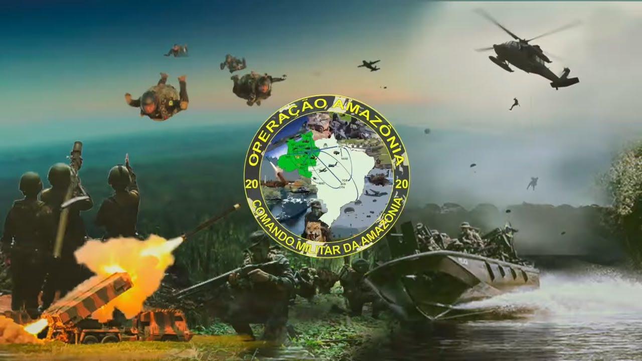 Operação Amazônia - Ataque à posição de um Batalhão inimigo