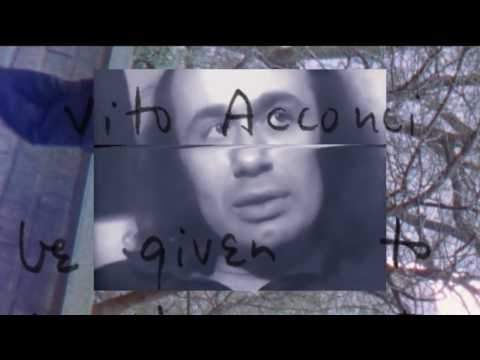 Vito Acconci: Where We Are Now (Who Are We Anyway?) | ARTIST PROFILES