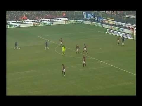 AC Milan vs Inter 3-2 21-02-2004 Serie A 2003-2004 highlights