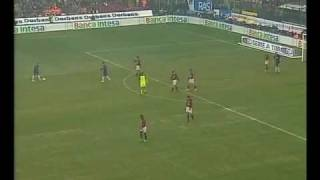 AC Milan vs Inter 3-2 21-02-2004 Serie A 2003-2004 highlights streaming