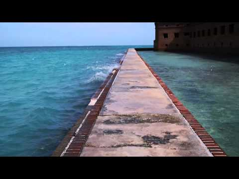 Fort Jefferson Seawall, Dry Tortugas National Park, Florida Keys