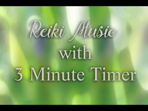Reiki Timer with Music  Nature Sounds, Windchimes and Wooden Flute with 26 x 3 minute bell timer