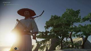 Ghost of Tsushima - The Iron Hook: Grapple Up The Cliffside Gameplay Tutorial (Throw, Swing)  (2020)