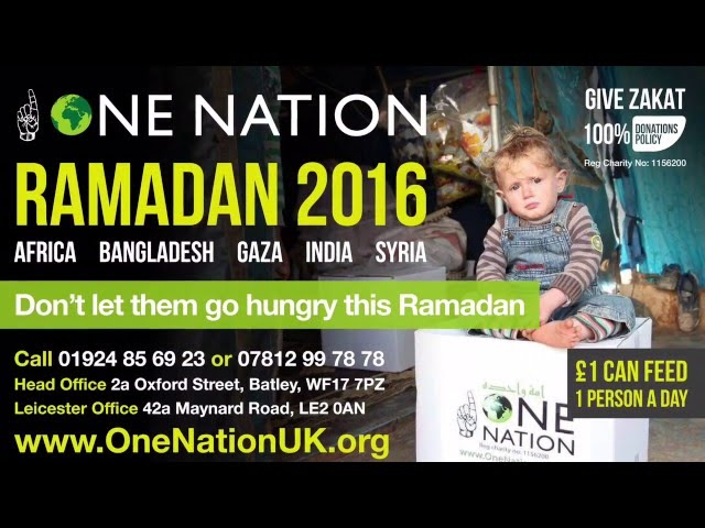 ONE NATION RAMADAN IFTAR APPEAL 2016 (1437)