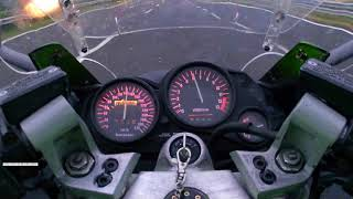 KAWASAKI top speed ZZR1100 of 1991  powered by BORMATIC