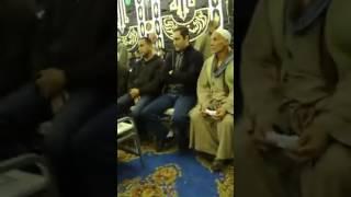 فيديو.. علاء مبارك يحضر عزاء والد أبو تريكة