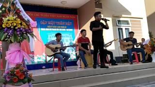 Guitar cover VỀ NGHE GIÓ KỂ cực hay ...Nhất Luân (nhạc viện quân đội) ft band NO NAEM