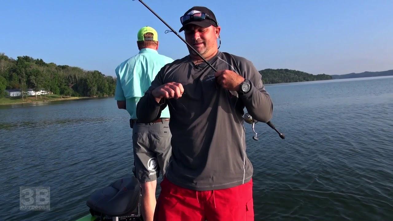 3b outdoors tv douglas lake tn structure fishing for for Douglas lake fishing