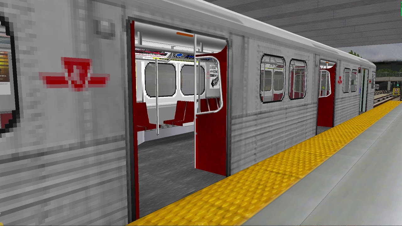 [HD] OpenBVE TTC BD Line 2 V2 0 Full Route with a T1 Train