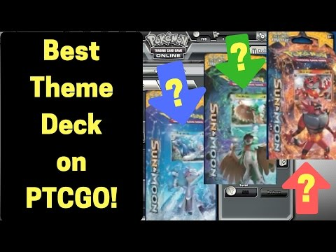 Best Theme Deck on Pokemon Trading Card Game Online | How Is This A Theme Deck?