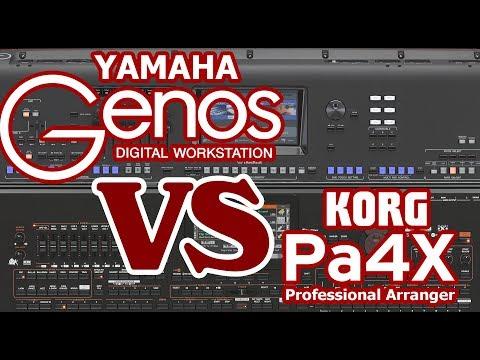 YAMAHA GENOS VS