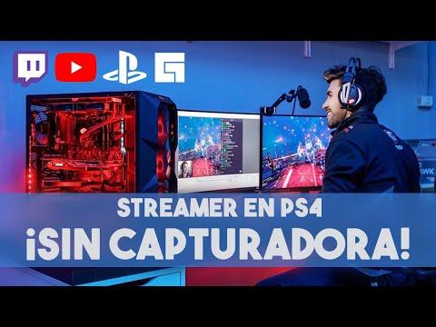 Se Un Streamer Utilizando Tu PS4  Y Tu Celular Como Webcam