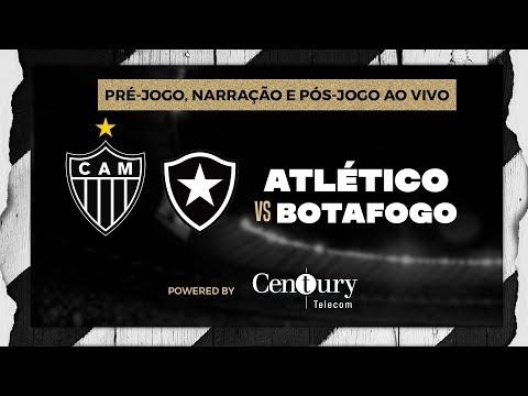 Atlético x Botafogo. Pré-jogo, narração e pós-jogo.