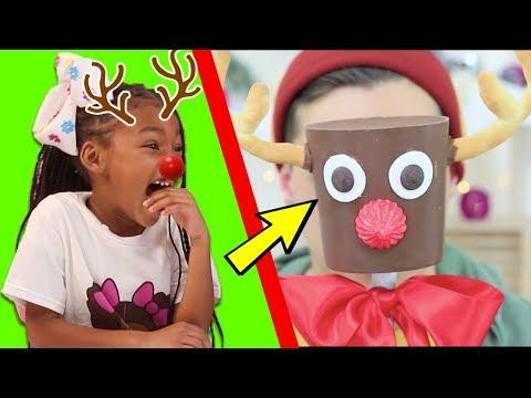 DIY Giant vs Miniature Christmas Candy - Troom Troom Funny Pranks