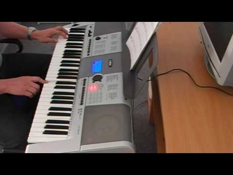 fly me to the moon yamaha psr e403 youtube. Black Bedroom Furniture Sets. Home Design Ideas