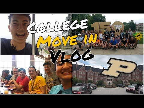 My First Week of College at Purdue University