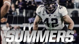 Most Versatile Linebacker in the COUNTRY 💪🏼 Official Ty Summers 2017 TCU Highlights