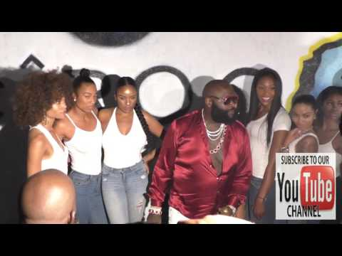 Rick Ross looking slim outside Playhouse Nightclub in Hollywood