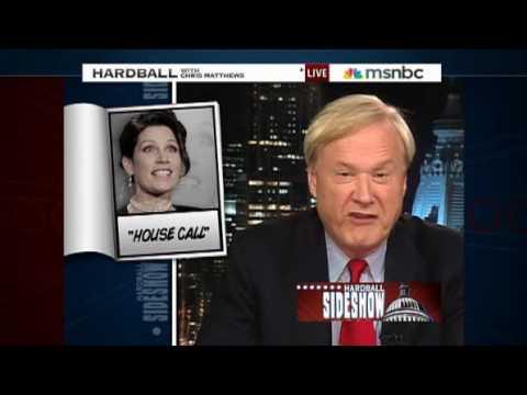 Bill Clinton in Kosovo Michele Bachmann GOP Hardball Chris Mathews