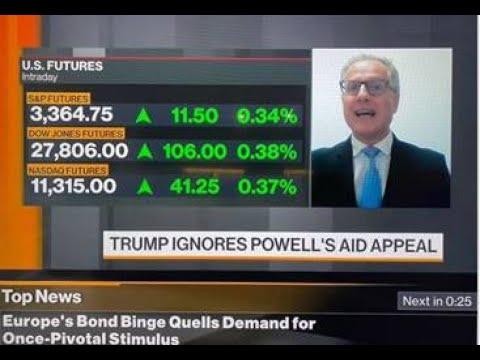 7 October 2020 Thanos Papasavvas, Market Update on Bloomberg