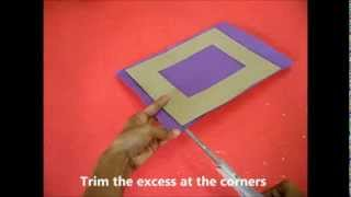 Lanterns & Photoframes: Diy Cardboard Photoframe