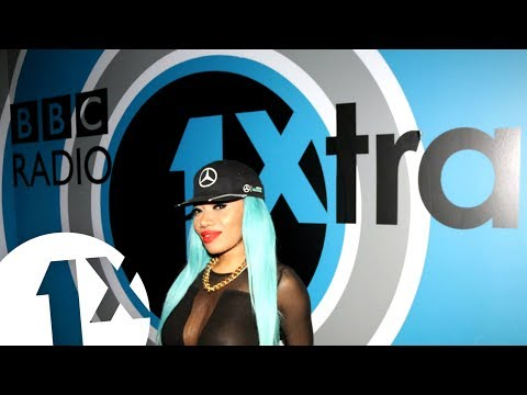 Lisa Mercedez freestyles in Sian's Studio on BBC 1Xtra