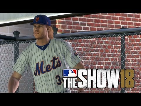 MLB 18 Gameplay - St Louis Cardinals vs New York Mets - MLB The Show 18 Gameplay PS4